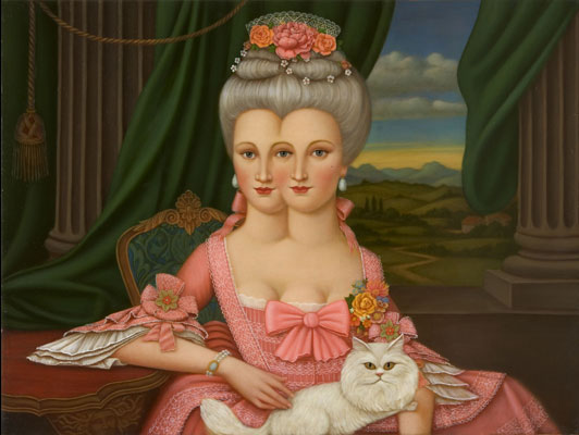 Colette Calascione - 2 Faced Portrait