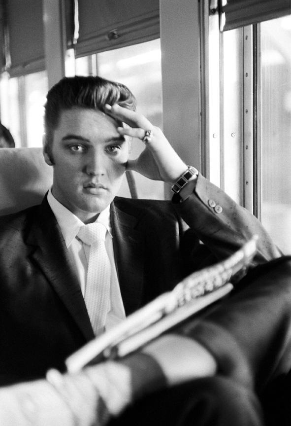 Elvis Presley, 1956 (Foto: Alfred Wertheimer)
