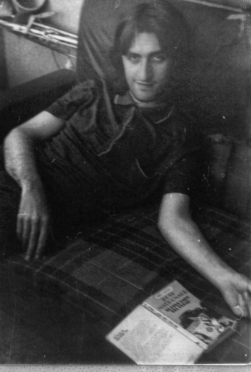 Lois Pereiro. Madrid, 1979 (Foto: Piedad Cabo)