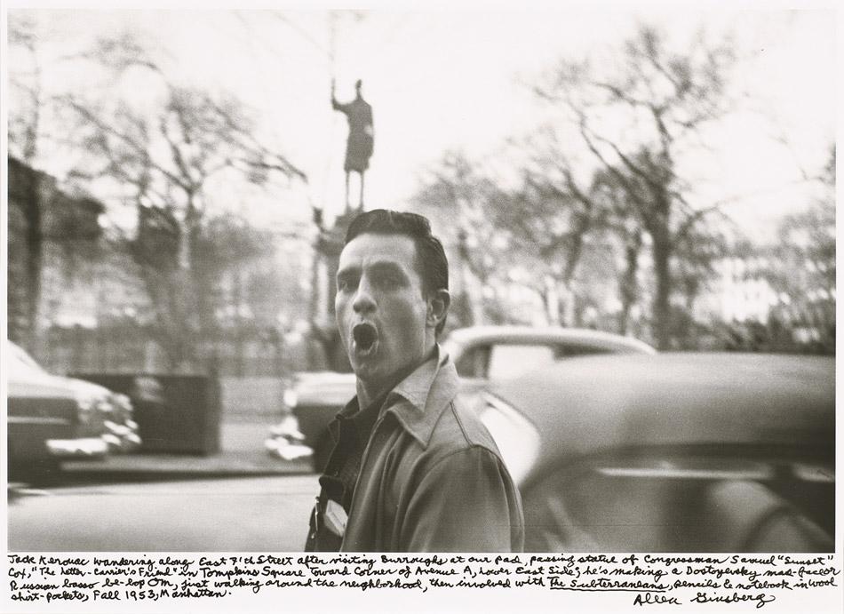 """Allen Ginsberg - """"Jack Kerouac"""", 1953"""
