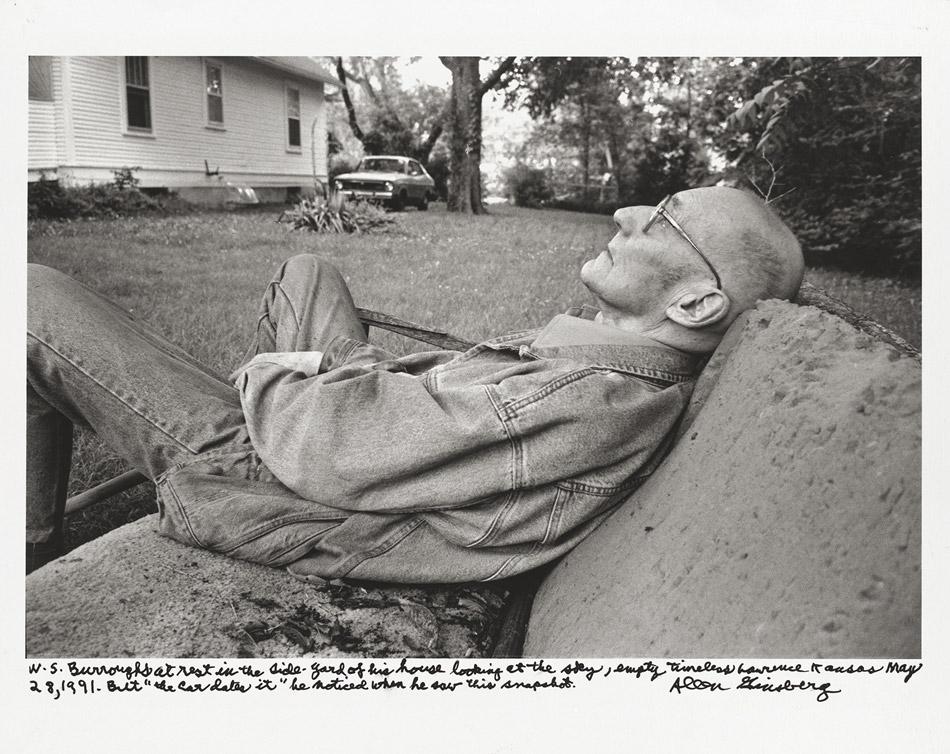 "Allen Ginsberg - ""W. S. Burroughs"", 1991"