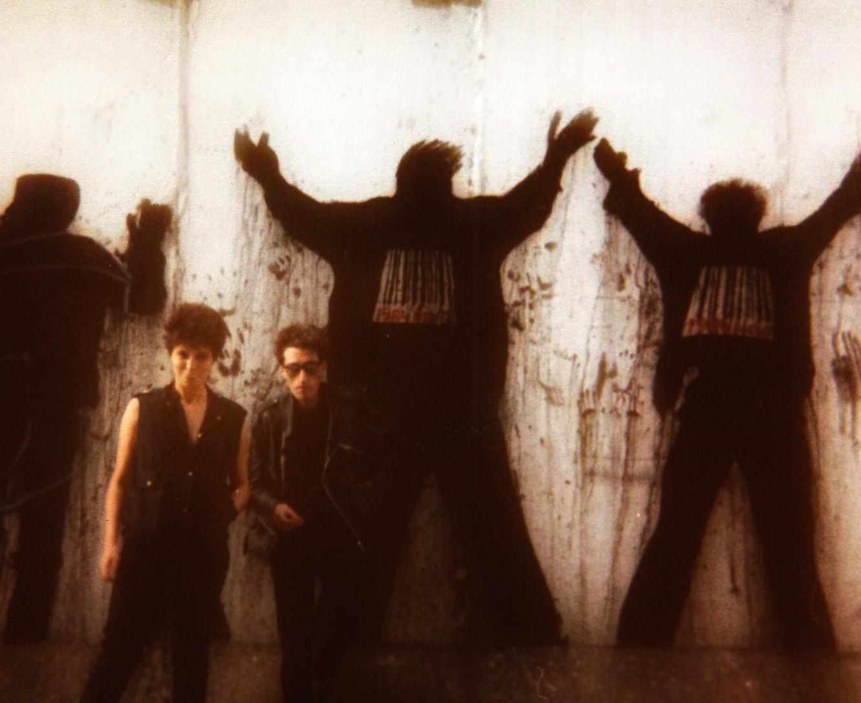 Piedad Cabo y Luis Pereiro. Muro de Berlín, 1983