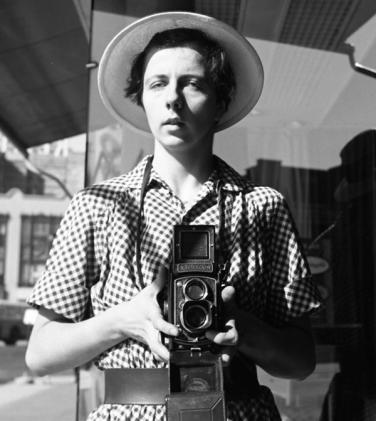 foto: Vivian Maier (autoretrato)