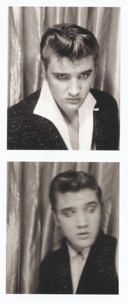 Fotomatones de Elvis Presley tomados en 1954 y 1955 en una máquina en Memphis