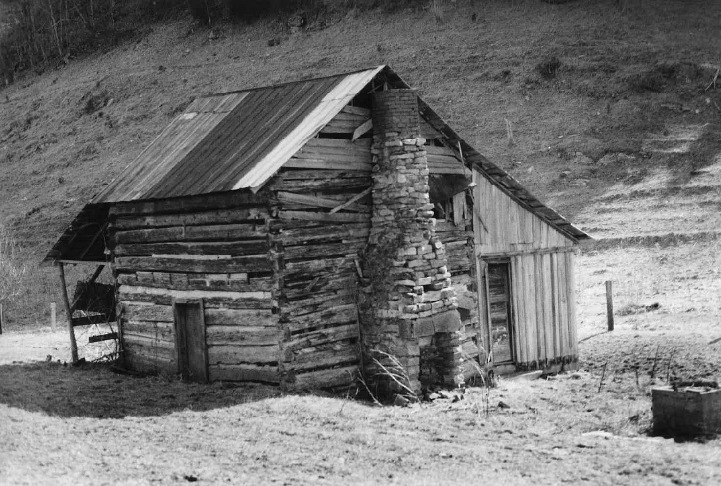 Cabaña donde nació A.P. Carter, en el Condado de Scott (Virginia-EE UU)