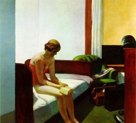'Hotel Room' - Edward Hopper