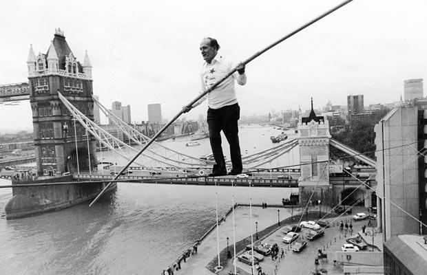 Karl Wallenda en Londres