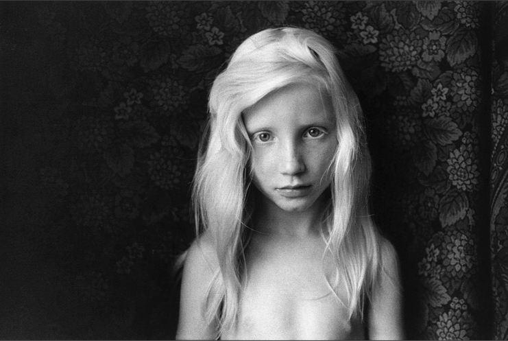 "Sibilly Bergemann - ""Kirsten Hoppenrade, Brandenburg"", 1975"