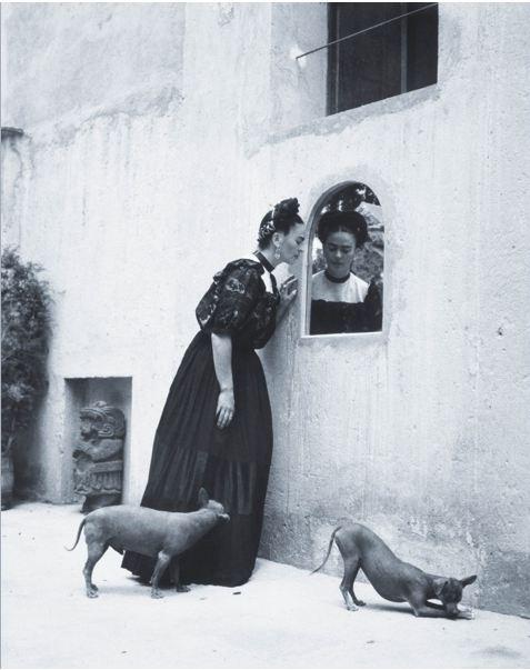Frida Kahlo por Lola Alvarez Bravo, 1944