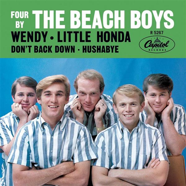 """Wendy / Little Honda / Don't Back Down / Hushabye"" - The Beach Boys, 1963"