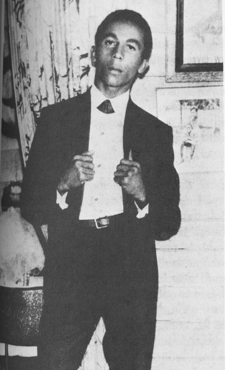 El día de su boda, 10 de febrero de 1966