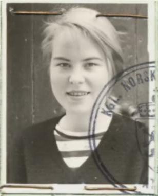 Foto de pasaporte de Marianne