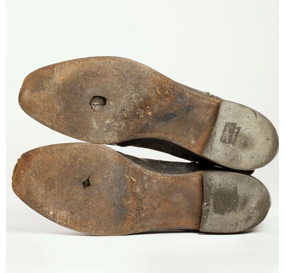 Zapatos favoritos de W.S.B. (foto: Peter Ross)