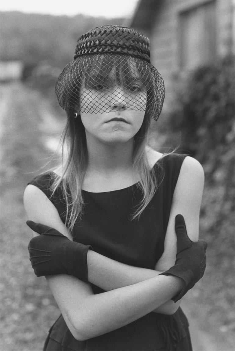 """Mary Ellen Mark - """"Tiny in Her Halloween Costume"""", 1973"""