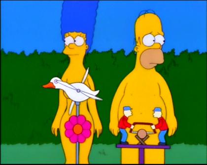Marge y Homer