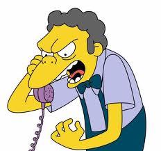 Moe al teléfono