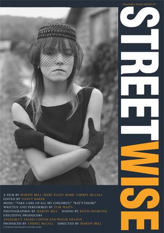 """Cartel del documental """"Streetwise"""" (Martin Bell, 1984)"""