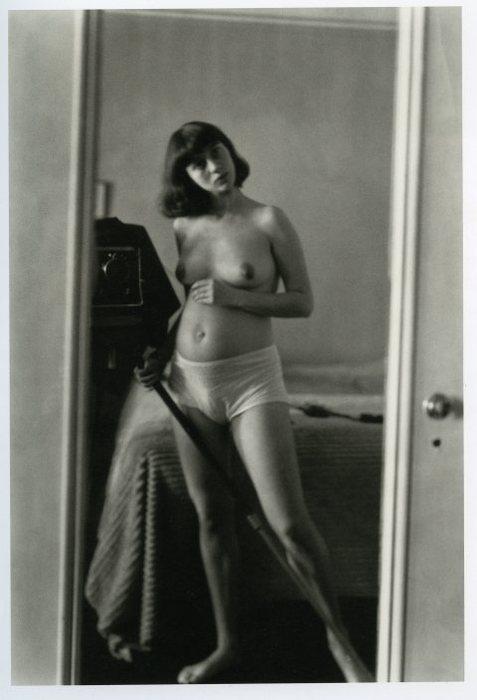 Diane Arbus, autorretrato, 1945