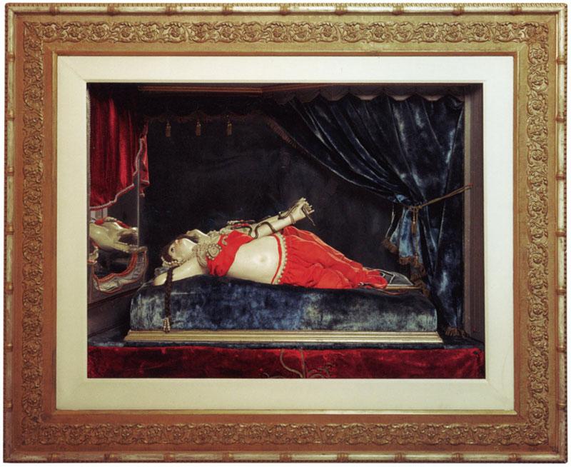 'El suicidio de Cleopatra' - Phalibois (1880-1890)