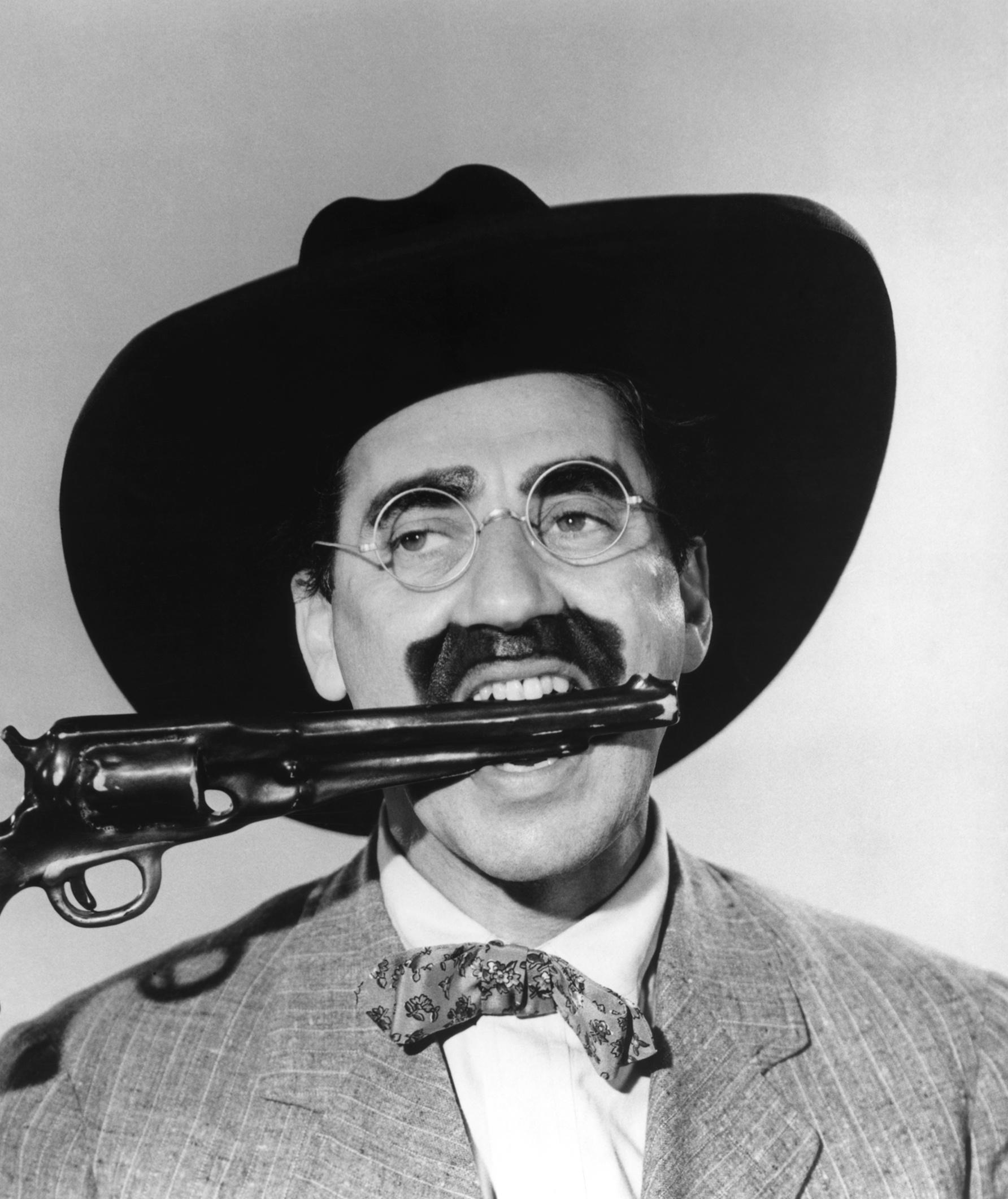 Groucho en 'Los Hermanos Marx en el Oeste' (1940)