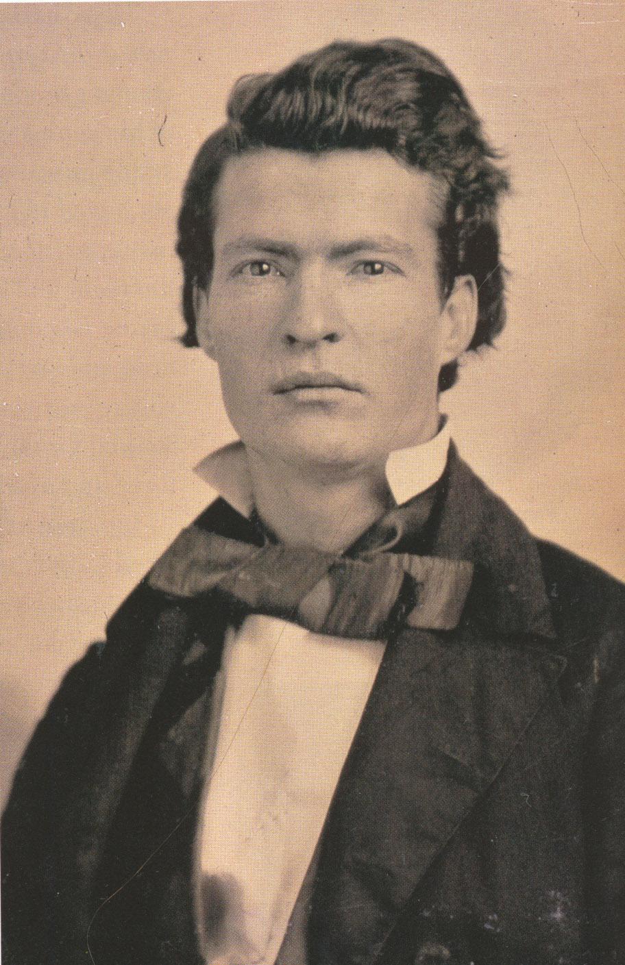 Samuel Clemens, en torno a 1851-1852