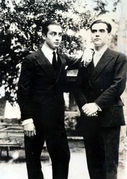 El taimado Aladrén, a la izquierda, y Federico