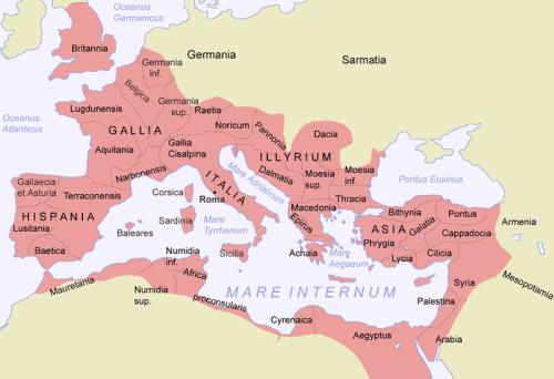 El Imperio Romano en los tiempos de Egeria