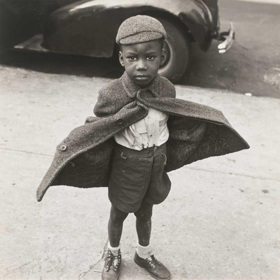 Jerome Liebling - Butterfly Boy, NY, 1950