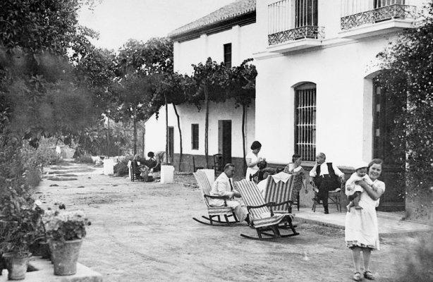 Casa familiar de los García Lorca en la Huerta de San Vicente, Granada