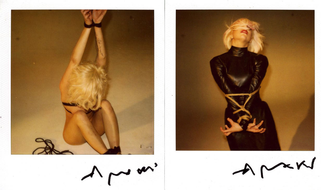 Nobuyoshi Araki Lady Gaga Lady Gaga Por Araki