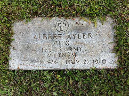 Tumba de Albert Ayler