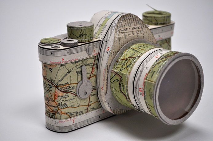 'Map SLR Camera' - Jennifer Collier