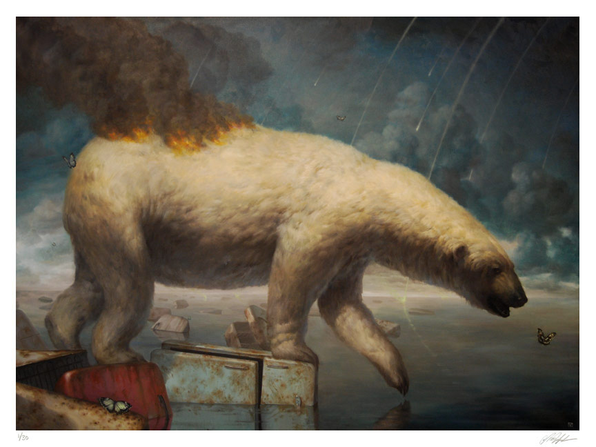 'Saints preserve us' - Martin Wittfooth