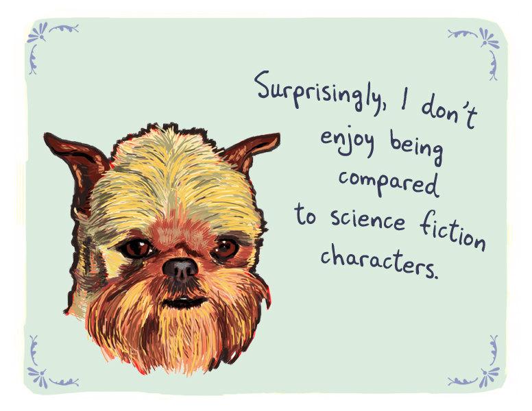 'Sorprendentemente, no me divierte ser comparado con personajes de ciencia ficción'