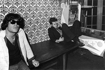 Chuck E. Weiss y Tom Waits