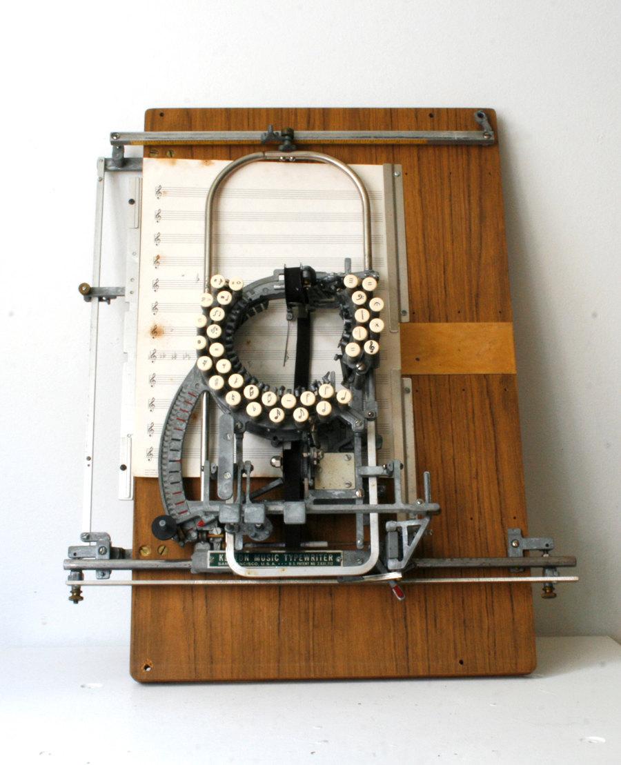 La Keaton Music Typewriter