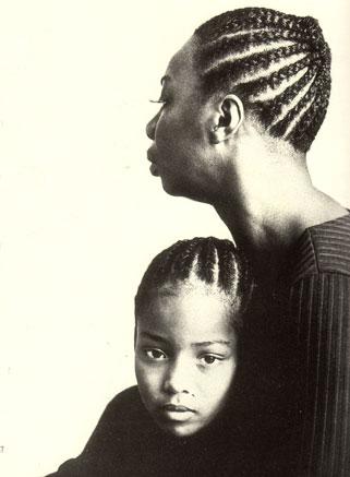 Nina y su hija Lisa Celeste
