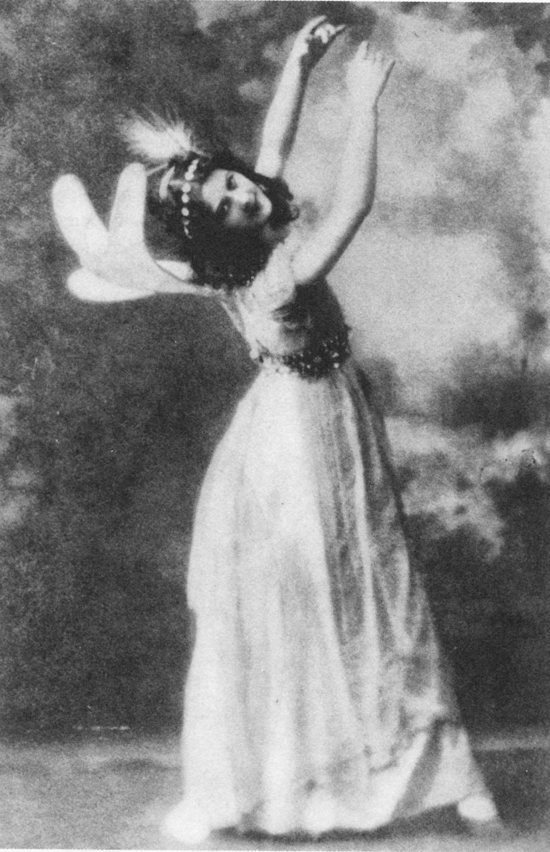 En 1896 como la primera hada de 'Sueño de una noche de verano' de Shakespeare, uno de sus primeros trabajos