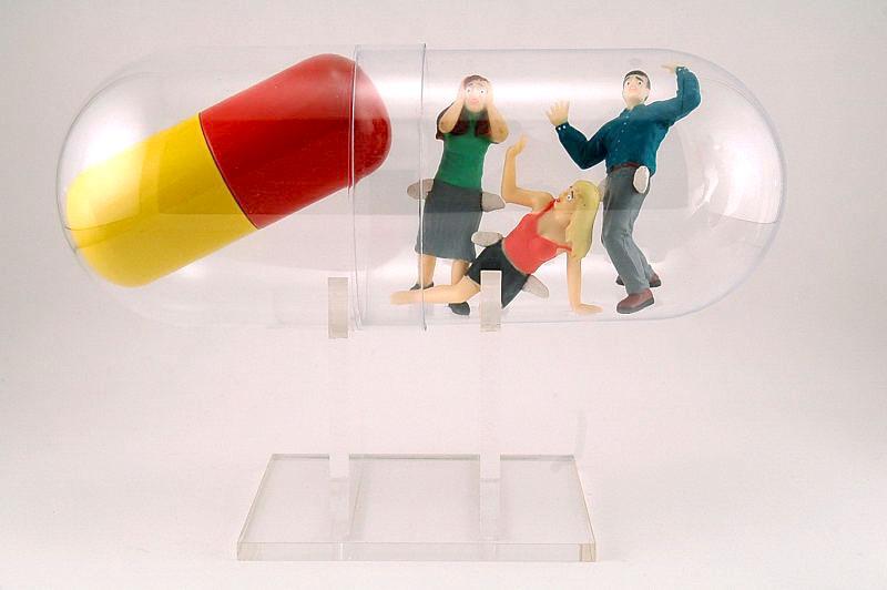 'Big Pharma meds' - Jon Harvey