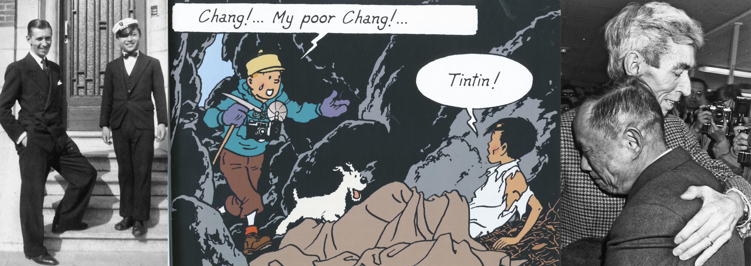 Chang y Hergé