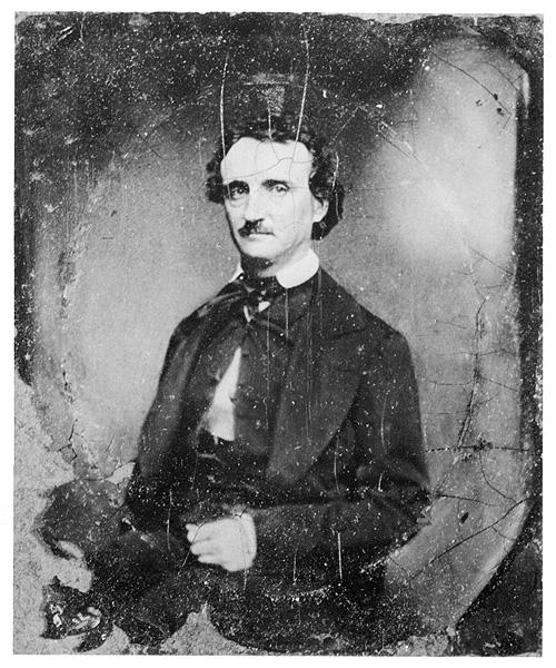 Poe en 1949, el año de su muerte