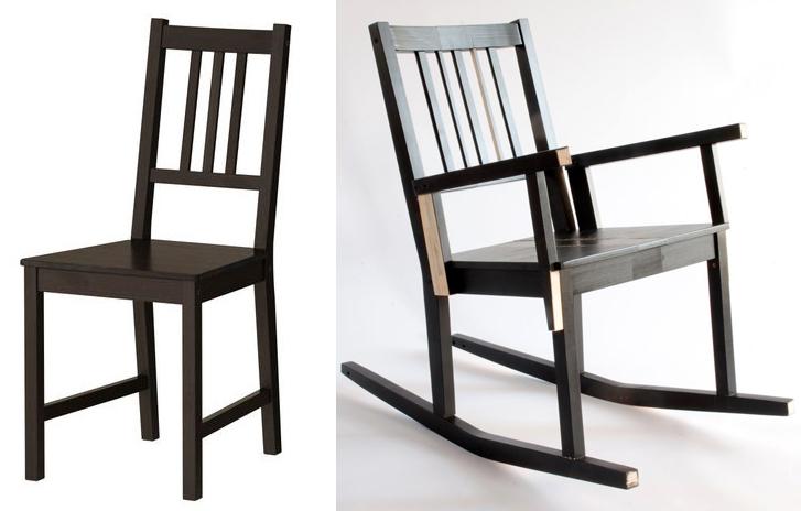Silla 'Stefan' antes y después - Laura Mays (Irlanda)