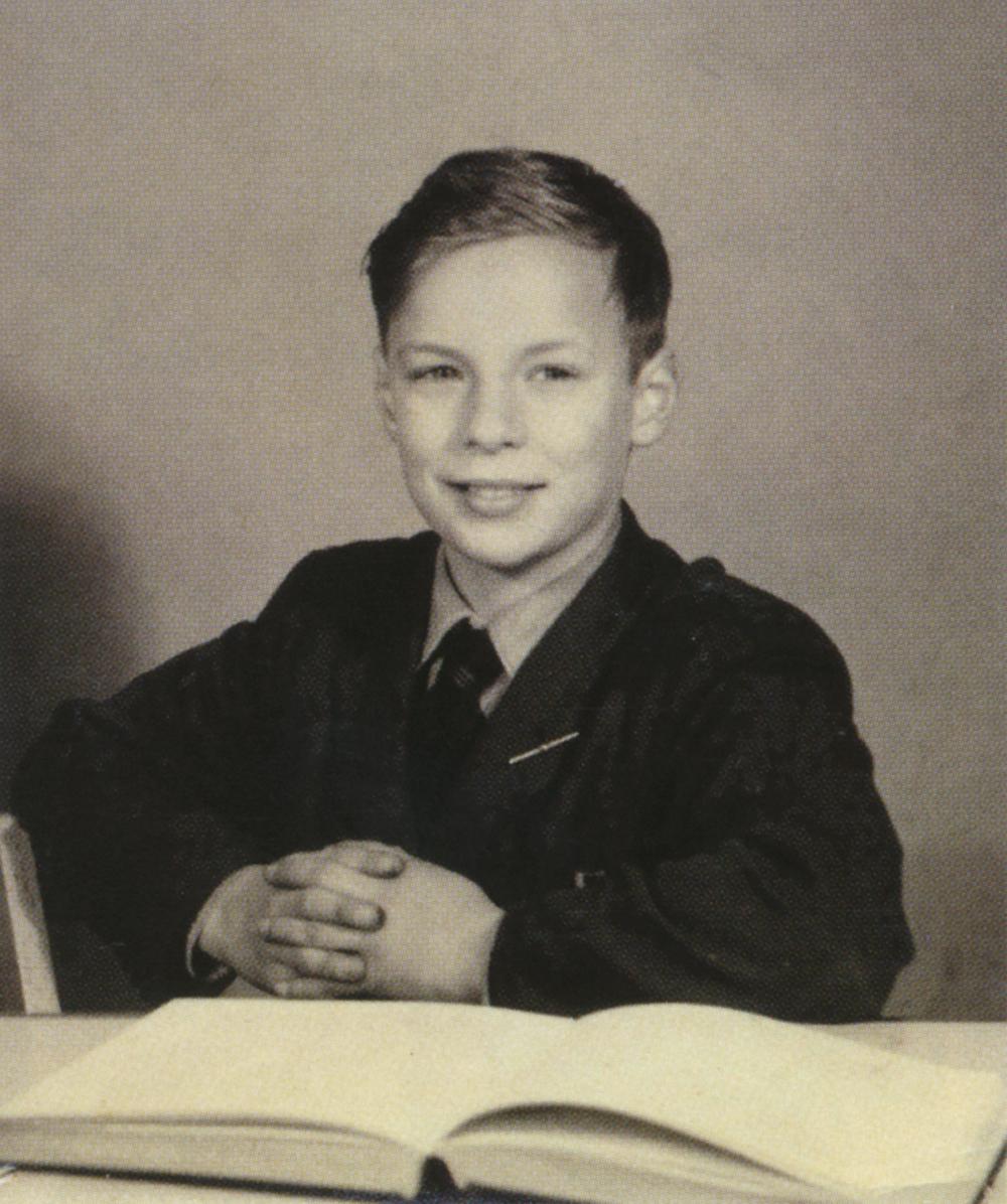 Brian Eno a los 12 años