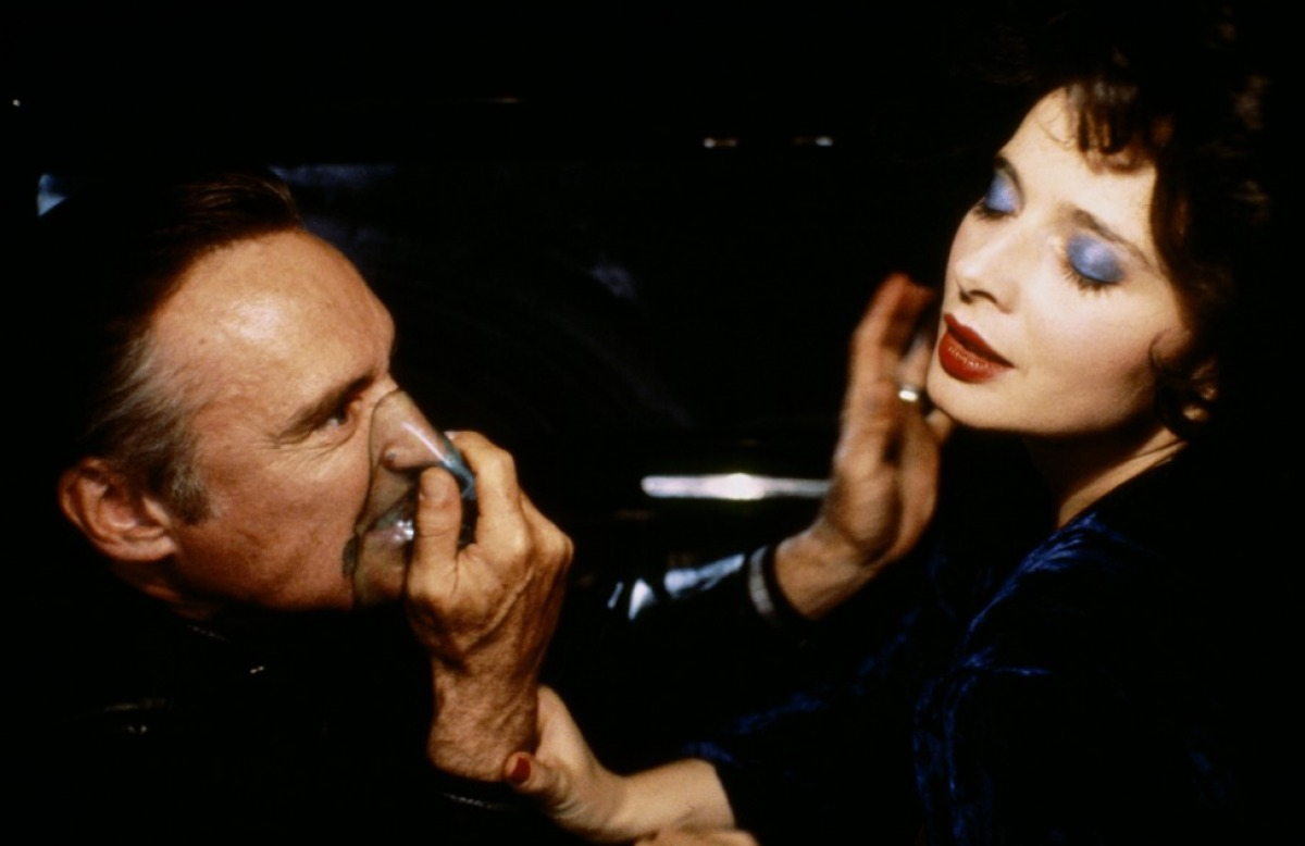 Dennis Hopper e Isabella Rossellini