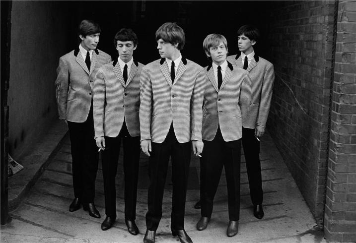 Los Rolling Stones retratados por Philip Towsend, 1963