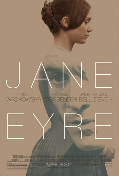 Cartel de la última adaptación de Jane Eyre (2011)