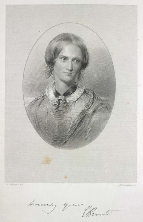 Retrato idealizado de Charlotte (1850)