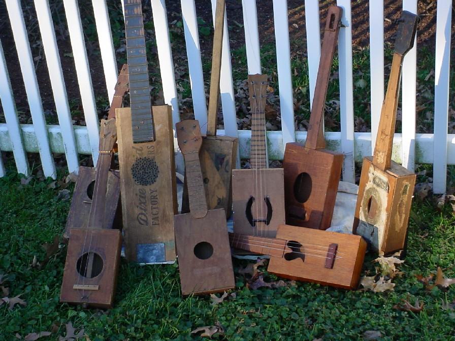 Guitarras de cajas de puros