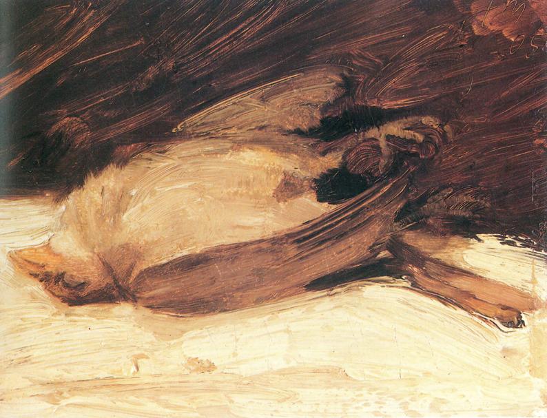 'El gorrión muerto' (1905)