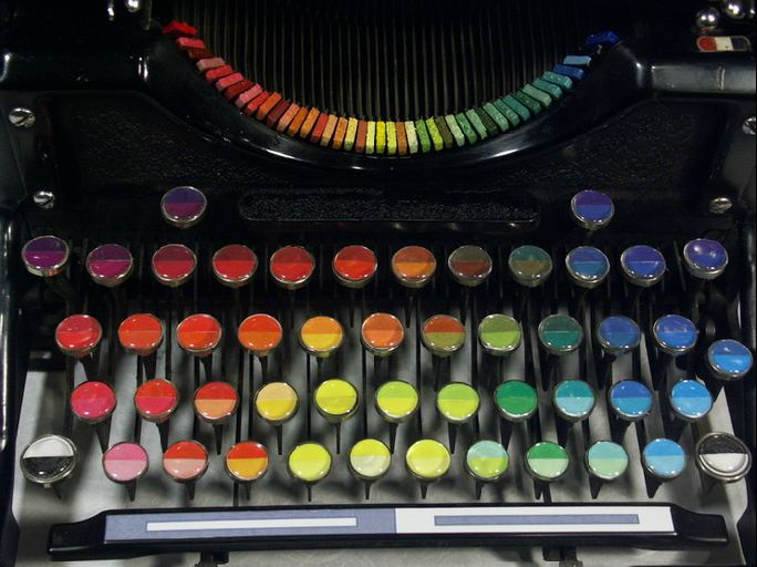 Detalle del teclado